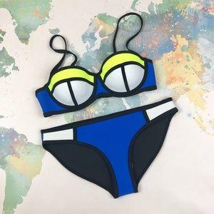 NWT TRIANGL Brand Neoprene Bikini Size Small S